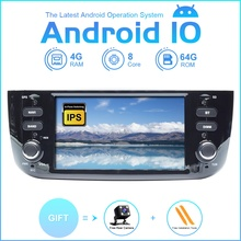 ZLTOOPAI Android 10.0 8Core For Fiat/Linea/Punto evo 2012 2015 Multimedia Player Car Wifi/3G/4G Auto Radio