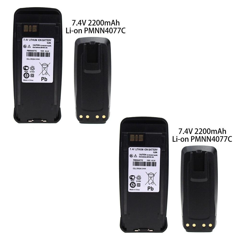 2X 7.5v 2000mAh Li-ion Battery For Motorola DR3000 DP3400 DP3401 DP3600 DP3601 DGP4150/+ DGP6150 MTR2000