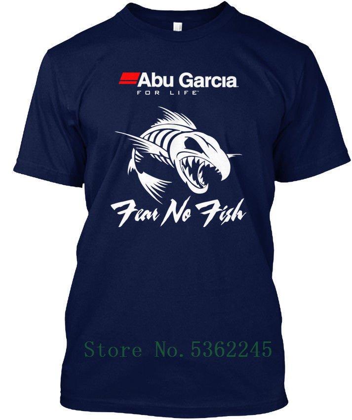 أبو غارسيا رجل-للحياة الخوف لا الأسماك قميص كول موضة فخر تي شيرت الرجال عادية جديدة للجنسين التي شيرت بلوزات شحن مجاني