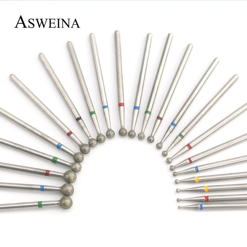 Алмазная дрель для ногтей, 1 шт., сверла для кутикулы, фреза для электрического маникюрного аппарата, пилочки для очистки кутикулы, инструмен...
