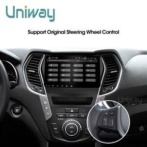 Image 5 - Uniway AIX459071 IPS android 9.0 araç DVD oynatıcı Hyundai IX45 Santa fe 2013 2014 araba radyo stereo navigasyon araba DVD OYNATICI gps