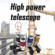 Telescopio Monocular De Alta Potencia Para Caza Binoculares De 5000m visera De Visión Nocturna Con Luz Baja Monocular # G3