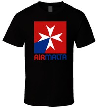 Air Malta 1978 Logo 1 T Shirt(China)