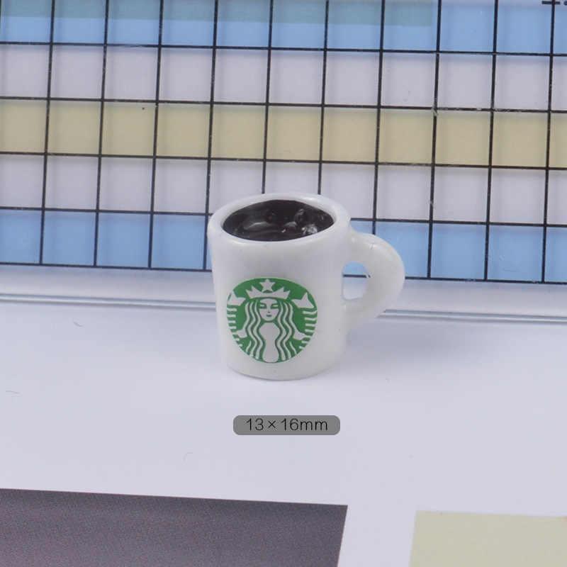 5 قطعة الوحل السحر فنجان القهوة زجاجة الراتنج البلاستيسين الوحل اكسسوارات الخرز صنع لوازم Crafts بها بنفسك سكرابوكينغ الحرف