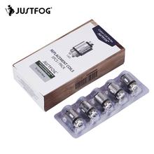 JUSTFOG głowica cewki rdzeń 1 2ohm 1 6ohm do Justfog C14 Q14 Q16 P16A P14A zestaw Atomizer Justfog zestaw vape do elektronicznego papierosa tanie tanio JUSTFOG Coil Head DS NC JUSTFOG C14 Q14 Q16 P14A P16A Kit 1 2ohm 1 6ohm