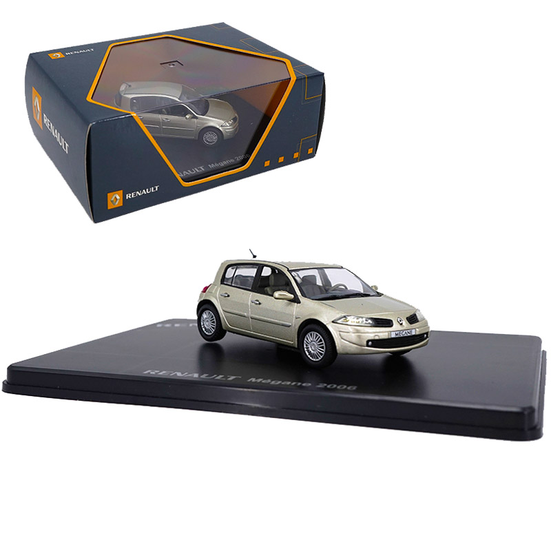 1:43 2006 Renaults Megane Hatchback Diecast Alloy Car Model Vehicle Model Metal Traffic Artwork Collection Kids Children Gift