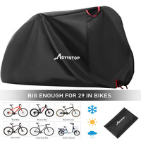 Bicycle Bike Cover Waterproof Snow Cover Rain UV Protector Dust Protector for Scooter Waterproof Bike Rain Dustproof Cover|Protective Gear| |  -