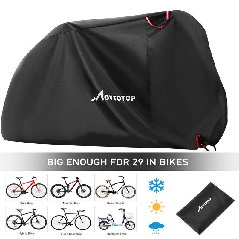 Vélo vélo couverture imperméable neige couverture pluie UV protecteur protection contre la poussière pour Scooter imperméable vélo pluie anti-poussière couverture