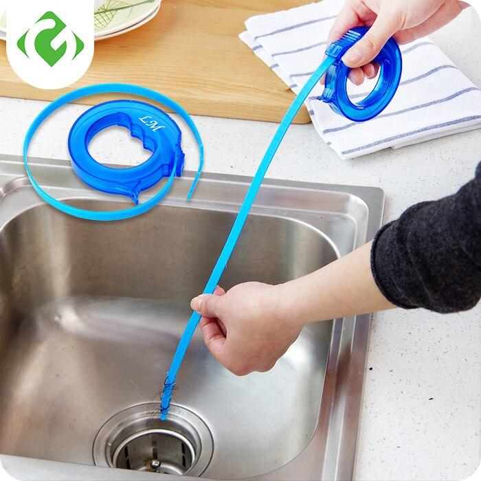 אמבטיה שיער ביוב מכשיר מחפר ניקוז מנקה וו מנקה אסלת כיור צינור סתימת כלים מטבח אביזרי אנטי חסימה