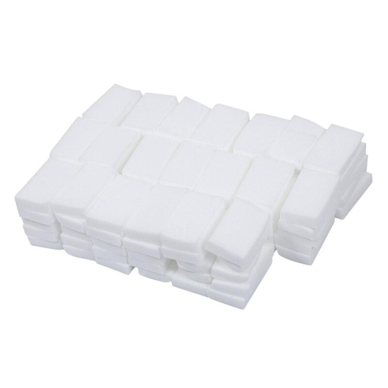 Melamine Sponge Magical Sponge Rub Melamine Cleaner Eco-Friendly White Kitchen Magical Sponge Rub 10*6*2 Cm 100 Pcs