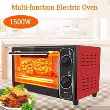 12л 1500 Вт Бытовая мини-электрическая духовка из нержавеющей стали Хлебопекарная машина домашняя жизнь Кухня Хлеб Тостер Пицца торт машина