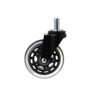 Image 5 - 5Pcs 11x22mm משרד כיסא גלגלים Wivel גומי גלגלית גלגל בטוח רולינג גלגלית תחליפים עבור בית ריהוט jun14