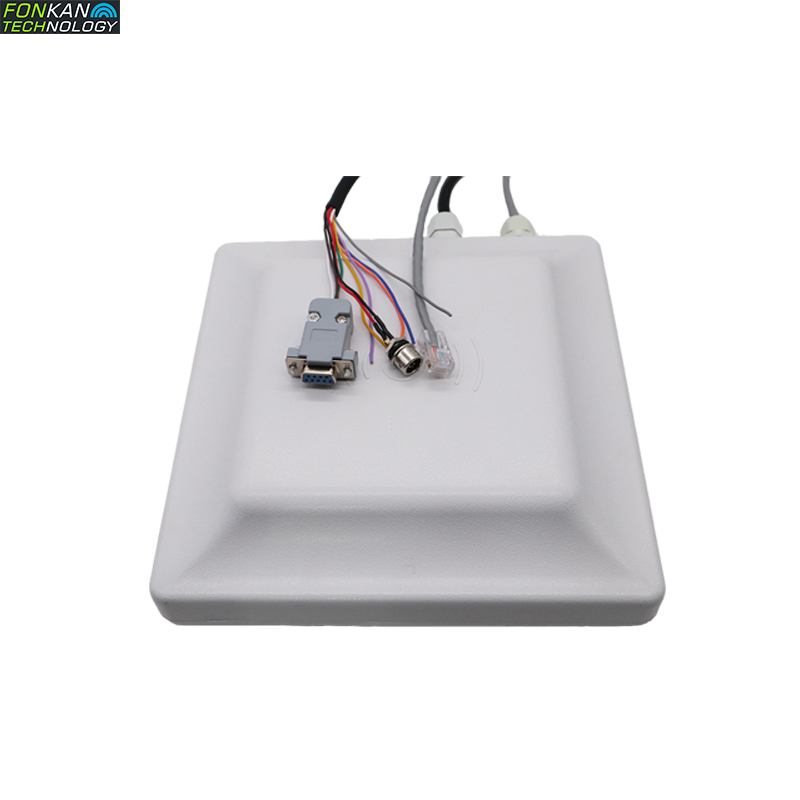 860-928Mhz Passive Impinj R2000 UHF RFID Long Range Integrated Reader With 7 DBi Antenna For Multi-tags Scanning