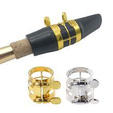цена на Clarinet E Alto Sax Rubber Bakelite Mouthpiece/Metal Ligature/Carved Ligature