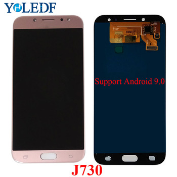 5.5'' J730 For Samsung Galaxy J7 Pro 2017 LCD SM-J730F J730FM/DS J730F/DS J730GM/DS Display Touch Screen LCD Digitizer Assembly image