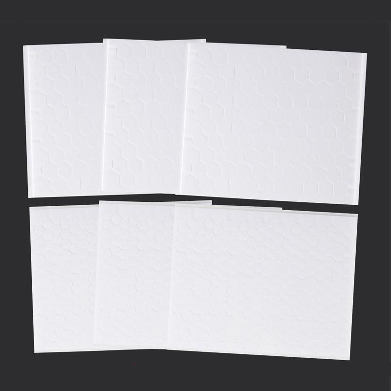 6 шт 3D листы белые липкая пена горошек двусторонняя клейкая поролоновая лента листов, для Скрап крафт поделки своими руками