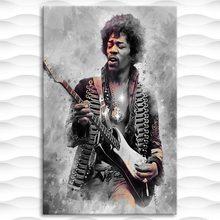 Moderne Jimi Hendrix Wand Kunst Leinwand Malerei Bild Poster und Druck Galerie Wohnkultur