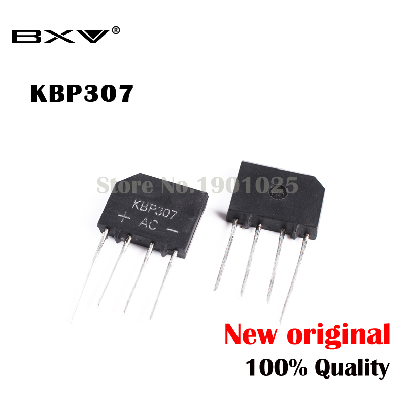 10pcs/lot 3A 1000V KBP307 Diode Bridge Rectifier KBP 307 Power Diode Electronica Componentes