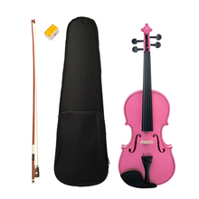 4/4-Violin Fiddle Professional with Storage-Bag Bow-Rosin for Concert School-Gig