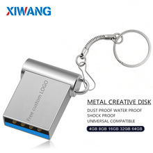 Mini USB 3.0 32GB 64GB Real capacity usb flash drive 128GB pendrive 16GB 8GB pen drive u disk flash memory stick free shipping usb stick usb 2 0 real capacity emoji emotion expression usb flash drive pen drive 1gb 64gb memory stick pendrive u disk