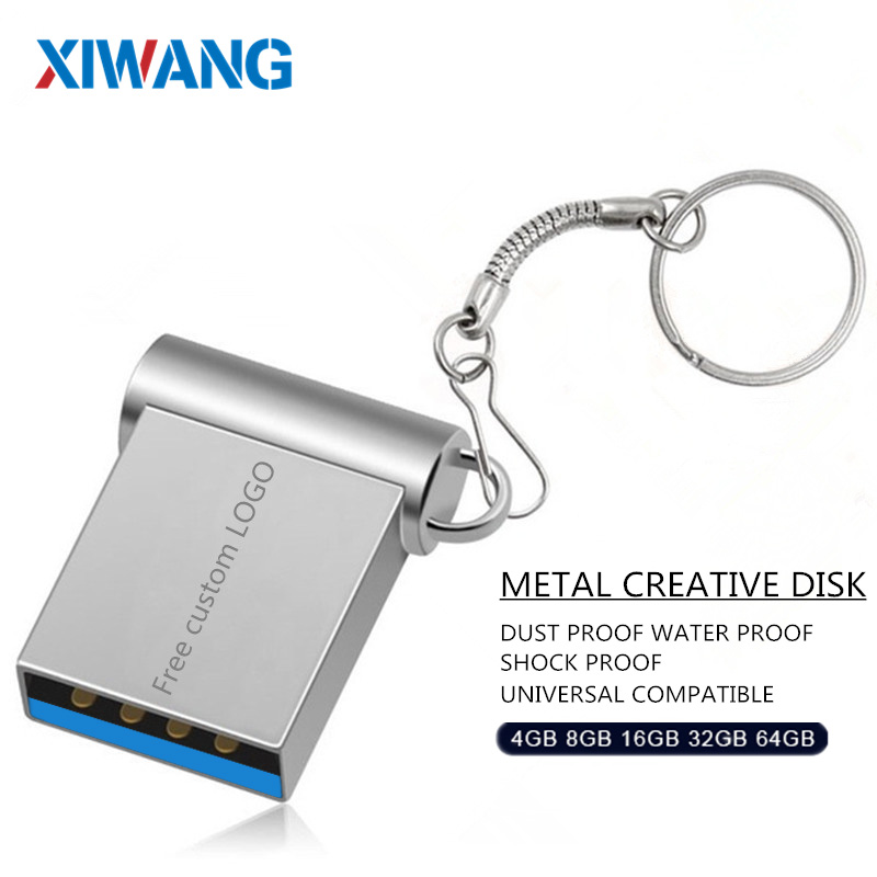Mini USB 3.0 32GB 64GB Real capacity usb flash drive 128GB pendrive 16GB 8GB pen drive u disk flash memory stick free shipping