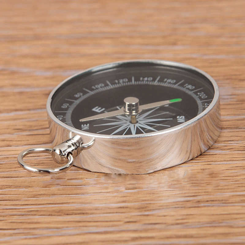 POCKET COMPASS HIKING SCOUTS CAMPING WALKING SURVIVAL AID GUIDES H4H6 M6
