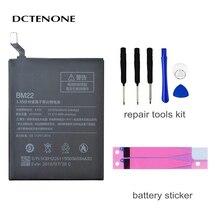 DCTENONE Phone Battery BM22 for Xiaomi Mi 5 Mi5 M5 2910mAh High Quality Replacement Battery Retail Package Free Tools original xiaomi bm22 high capacity phone battery for xiaomi 5 mi5 m5 prime 2910mah