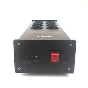 Image 3 - WAudio W 4000 เสียงรบกวนAC Power Filter Power Conditioner Powerเครื่องฟอกอากาศป้องกันไฟกระชากEU Outlets Power Strip