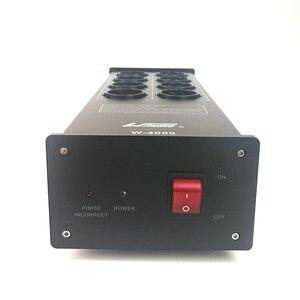 Image 3 - WAudio W 4000 אודיו רעש AC חשמל מסנן כוח מזגן כוח מטהר Surge הגנה עם האיחוד האירופי חנויות כוח הרצועה