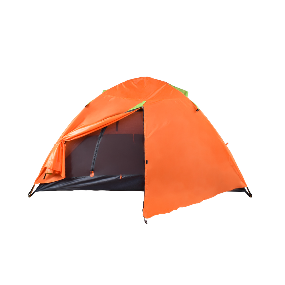 camping hiking trekking picnic outdoor for 2person couple manual double-layer waterproof ultralight portative compact tent