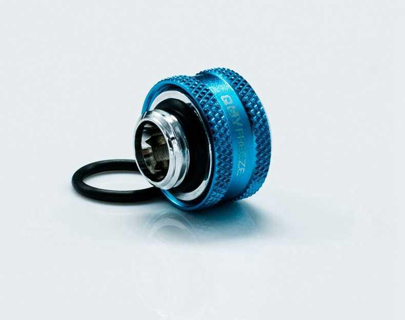 FREEZEMOD OD12mm ハードチューブ継手水冷継手 G1/4 ''外部スレッド六角レンチ穴。 YGKN-C12MM