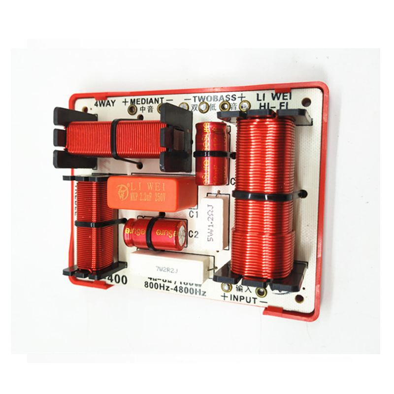 LEORY A 400/Quadruple Frequency Divider for Household Vehicle Speakers loudspeaker frequency divider
