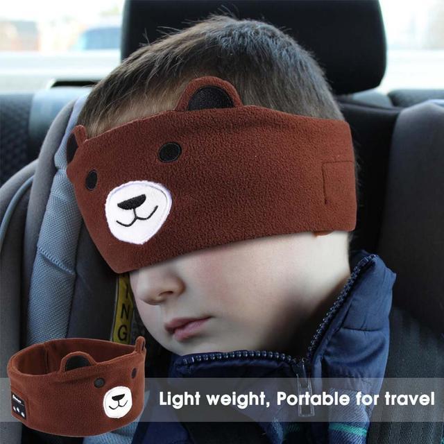 Máscara de sueño con auriculares Bluetooth 5,0 estéreo 3