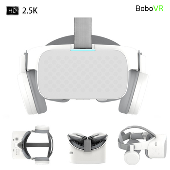 Bobovr X6 Virtual Reality All In One Vr Binocular 2.5k Hd Vr Headset Android 3d Glasses Helmet Immersive 5.5' Lcd Wifi Bt4.2 1
