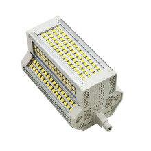 Диммер 50 Вт R7S 118 мм светодиодный Кукуруза лампы заменить 500 Вт солнечные трубки AC110-130V AC200-240V для торговых центров дворов, бесплатная доставка