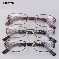 Mix wholesame promotion Eyeglasses Oversized Optical Myopia Eyewear Computer Glasses Frame montures de lunette Women screw hinge