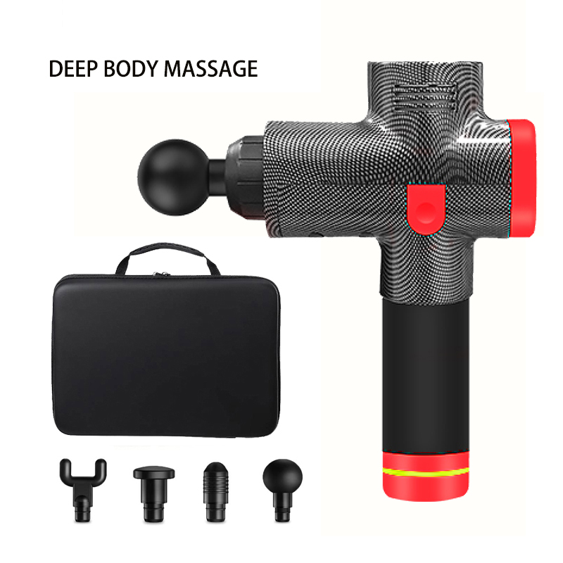 Muscle Massage Gun Sport Therapy Massager Body Relaxation Vibration Pain Relief Massager Machine Electronic  Muscle Massager