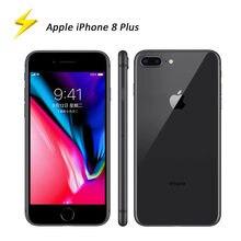 Apple – authentique Smartphone iPhone 8 Plus de 64 ou 5.5 go d'occasion, téléphone portable, Hexa Core, écran de 2675 pouces A11, batterie de 256 mAh, 3 go de RAM, processeur Hexa Core, écran tactile de 12 mpx, lecteur d'empreinte digitale