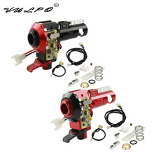 VULPO Hot Sale CNC Aluminum Hop Up Chamber With LED For Airsoft AEG M4 M16 Upgrades Hunting Accessories