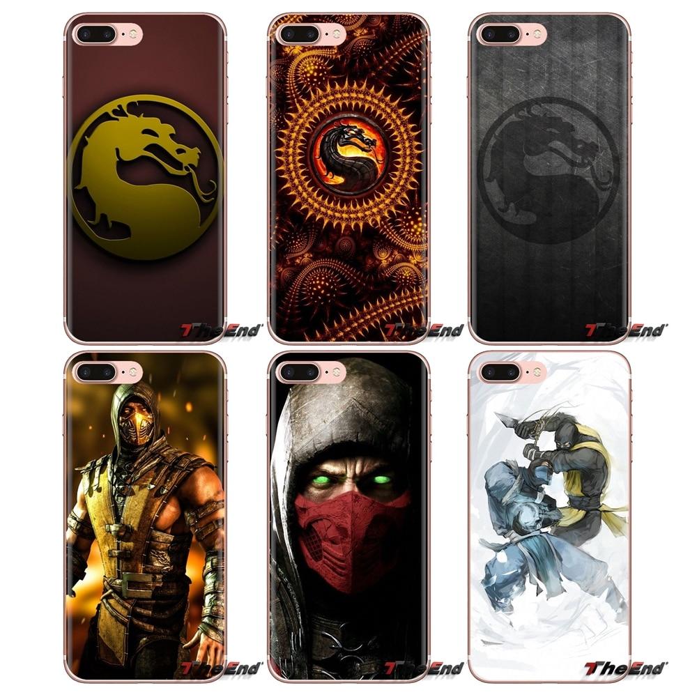 Scorpion In Mortal Kombat X Mask Mobile Phone Case For LG Spirit Motorola Moto X4 E4 E5 G5 G5S G6 Z Z2 Z3 G2 G3 C Play Plus Mini