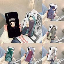 Muslim Islamic Gril Queen Phone Case For SamsungA 01 11 31 91 80 7 9 8 12 21 20 02 12 32 star s eCover Fundas Coque