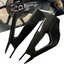S1000RR 2019 2020 Real Carbon fiber Motorrad Schwinge Abdeckung Schaukel Arm Protector Für BMW S1000RR S 1000RR S 1000 RR 2019 2020