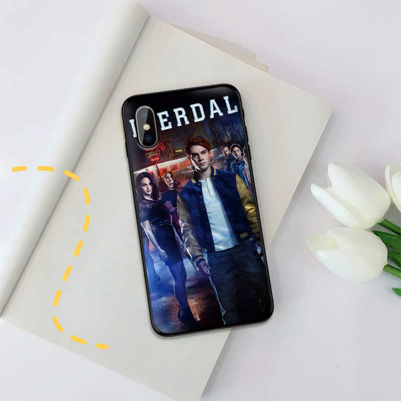 Riverdale South Side Serpents Case For iPhone XS Max XR Soft Silicone Cover For iPhone X XS 6 6S 7 8 Plus Coque Funda