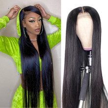 32 30 Inch Bone Straight Lace Front Wig 4x4 Closure Wig 150 Brazilian 13x4 Long Lace Frontal Human Hair Wigs For Black Women