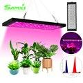 Светодиодный Grow светильник 1500W Фито лампа для выращивания растений с питанием от источника 85-265V Phytolamp полный диапазон EU/US/UK Phytolamp для роста ра...