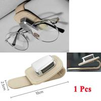 Clip Universal para gafas de sol de coche, Clip de almacenamiento para tarjetas de vidrio, accesorios de funda