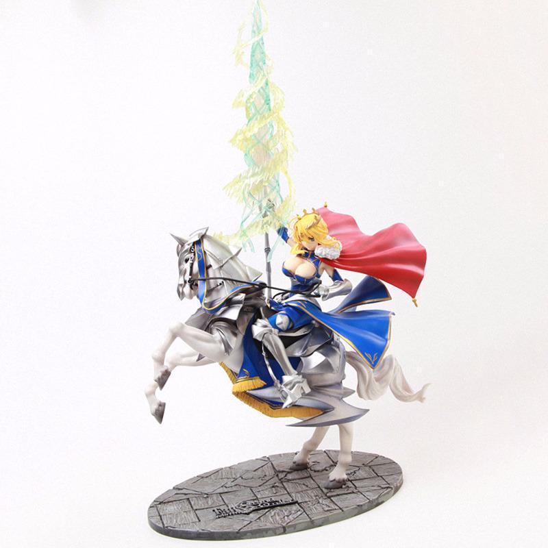 45cm destin rester nuit sabre Lancer destin/Grand ordre sabre Alter Anime figure jouets PVC Action figurine modèle jouets à collectionner poupée