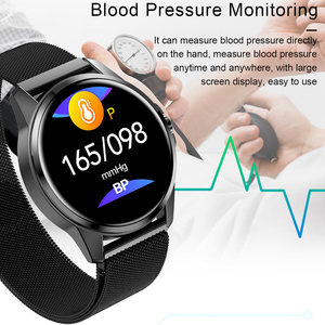 Image 4 - SANDA Full Touch Luxury Men Smart Watch Waterproof Sport Pedometer Fitness Tracker Heart Rate Monitor Women Clock Smartwatch