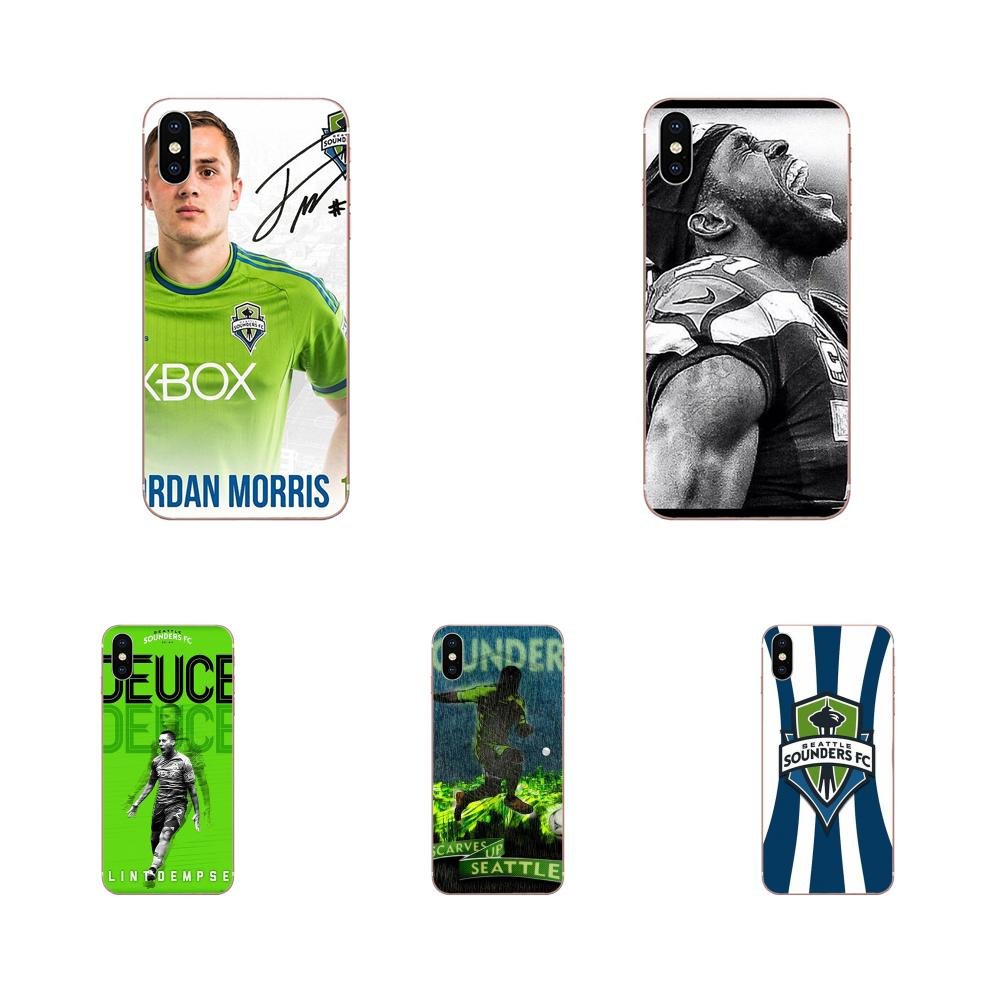 Top Detailed Popular Phone Case Seattle Sounders For Huawei Honor Mate 7 7A 8 9 10 20 V8 V9 V10 G Lite Play Mini Pro P Smart image