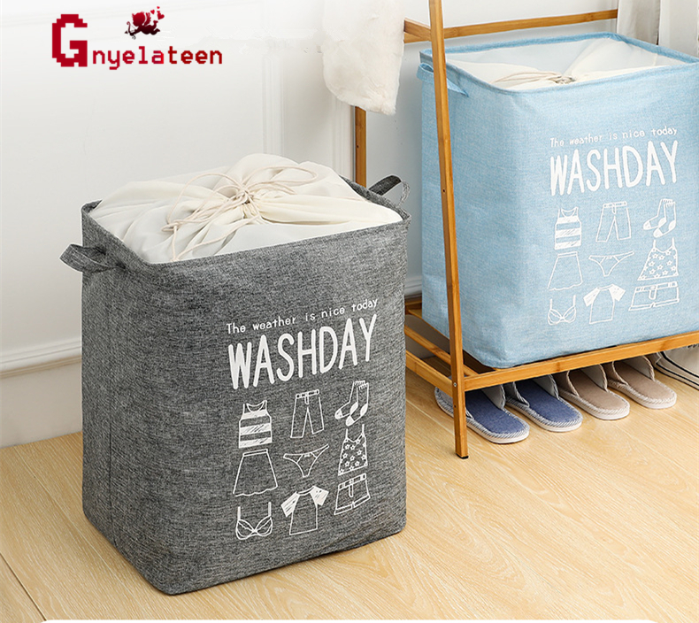 Large House Storage Bag Drawstring Beam Shipping Storage Bag Kids Toy Bundle Pocket Pouch Debris Package Organizer Home Decor